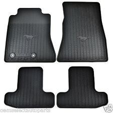 OEM NEW 15-18 Ford Mustang All Weather Vinyl Contour Floor Mats FR3Z6313300BA