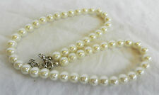 White Japanese Pearl Necklace - Fabulous Classy Classic Jewellery