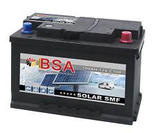 Solar SMF Batterie 100Ah 12V SHD Wohnmobil Versorgungs Solarbatterie Boot 80Ah