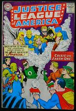 JUSTICE LEAGUE OF AMERICA 1963 SET OF 33 SILVER BOOKS,ALL JSA TEAMUPS!!