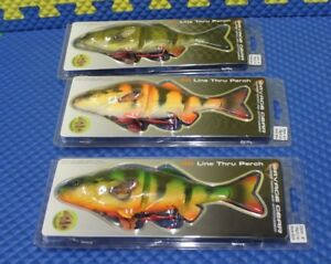 Savage Gear 4D 4th Dimension Line Thru Perch YP-230 Series CHOOSE YOUR COLOR!!!!