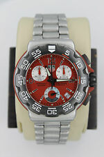 Tag Heuer CAC1112.BA0850 RED Professional Formula One F1 Chronograph Watch Mens