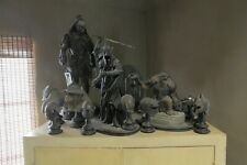 Lot of 12 Lord of the Rings Figurines Weta Collection Great Condition