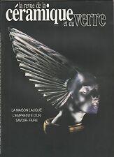 La revue de la céramique et du verre N°67 novembre-décembre 1992 Maison Lalique