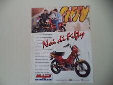 advertising Pubblicità 1994 MALAGUTI FIFTY TOP 50