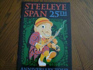 Steeleye Span 25th Anniversary Tour Programme. 1995. MINT