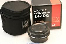Nikon fit Sigma APO DG EX x1.4 teleconverter 1.4x READ FULL DESCRIPTION NR MINT