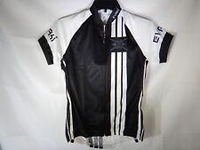 Cycling Jersey XS by EVAKI Sportswear Women's Delta Black and White T2