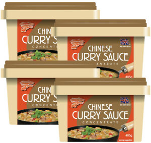 Goldfish Chinese Curry Sauce Concentrate (Box of 4 tubs)