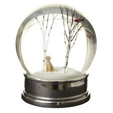 Snow Globe with Winter Dog Scene