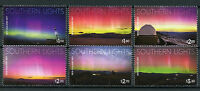 New Zealand NZ 2017 MNH Southern Lights 6v Set Light Science Stamps