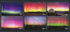 New Zealand NZ 2017 MNH Southern Lights 6v Set Light Science Stamps