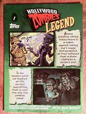 2007 TOPPS  HOLLYWOOD  ZOMBIE#  1 HOLLYWOOD ZOMBIES [LEGEND]    *WKY334