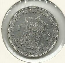 1 Gulden  Wilhelmina   / 1922  / ZIE SCANS VOOR KWALITEIT!