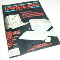 Vintage Analog Computing Magazine No. 39 Feb. 1986 Issue - Commodore vs. Atari