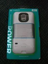 Logitech Protection + Power Samsung External Battery Case - Galaxy S5 White