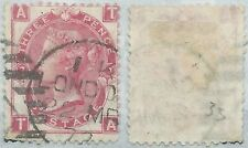 1867-80 GREAT BRITAIN USED SG 103 3d plate 7 (TA) - rc6-3