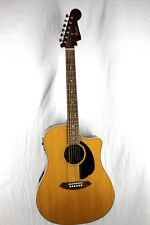 Fender Sonoran Sce Natural Dreadnought Acoustic Electric Guitar #R8149