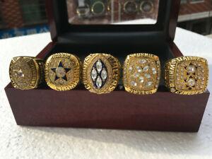 5 Ring 1971 1977 1992 1993 1995 Dallas Cowboys Championship Ring ---