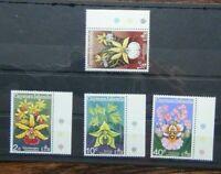 Cayman Islands 1971 Orchids set MNH