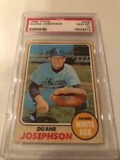 DUANE JOSEPHSON 1968 TOPPS CHICAGO WHITE SOX BASEBALL CARD #329 PSA GEM MINT 10
