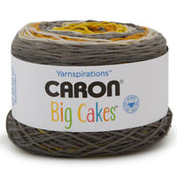 Caron Big Cakes 100% Acrylic Worsted Striping Yarn Medium #4 Cake Knit Crochet