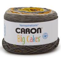 Caron Big Cakes 100% Acrylic Worsted Striping Yarn Medium #4 Cake Knit Crochet