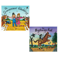Julia Donaldson 2 Books Collection Set(The Scarecrows' Wedding& Highway Rat)New