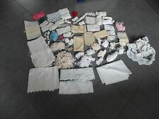 Spitzen Borten Spitzenbänder Stickereien Klöppel Konvolut über 50 Artikel