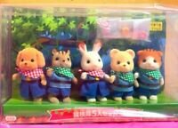 Sylvanian Families Epoch Limited edition Expedition Set of 5 Dolls Japan S31