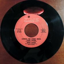 Rare Doo Wop Buddy Clinton Time 1016 45rpm How Many Prayers Have Changed Across