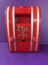 STEAMPUNK REPURPOSED FIRE ALARM LIGHT SWITCH & WALL PLATE ~ 120-277VAC, 20AMP
