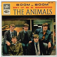 """The ANIMALS    Boom boom    7"""" 45 tours EP"""