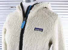Patagonia Retro-X Fleece Cardigan Jacket Womens S small cream plush 23065 $179