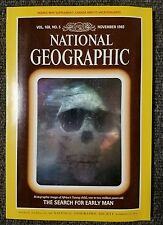 National Geographic magazine November 1985 With Map of Canada Vacationlands