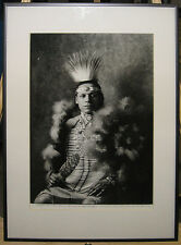 """Rare Bohumil """"Bob"""" Krcil Original Photo of Indian Chief Noted Czech Photographer"""