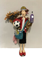 Hallmark Ornament Super Mom Working Mommy Stay At Home Mom