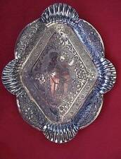 Antique Victorian Silverplate Cherub Calling Card Tray James W Tufts Pinehurst
