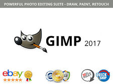 GIMP Photo Editor 2017 - Digital Photo / Graphic Design Software WINDOWS + MAC