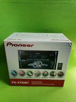 Pioneer FH-X700BT - car - CD receiver - in-dash unit - Double-DIN | FH-X700BT/US