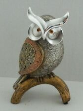 Shudehill Decorative Owl Ornament Gold Coloured 22 cm Gift