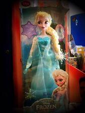 Bambola canora led Elsa di Frozen - Il regno di ghiaccio H 41 x L 15 cm circa