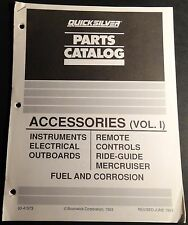 1994 Quicksilver Accessories Propellers Volume I Parts Manual 20 Pg (394)