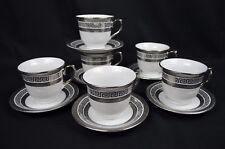 Porcelain Set Of Six 220cc Tea Cup And Saucer