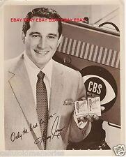 Original Photo Perry Como Singer Actor CBS Chesterfield Cigarettes Ad