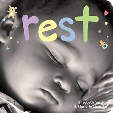 Rest: A board book about bedtime (Happy Healthy Baby) by Lisovskis, Marjorie, Ve