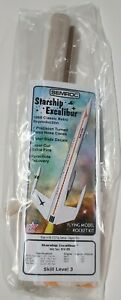 Starship Excalibur Flying Model Rocket Kit KV-85 OOP NEW SEALED