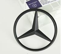 Black REAR TRUNK STAR LOGO Emblem For Mercedes-Benz CLA Class C117 CLA45 amg