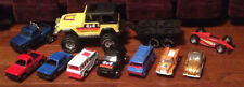 Vintage Lot of Pressed Steel & Plastic Tootsie Toy Vehicles