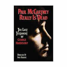 Paul McCartney Really Is Dead: The Last Testament of George Har... Free Shipping
